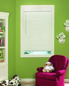 blinds in children's room